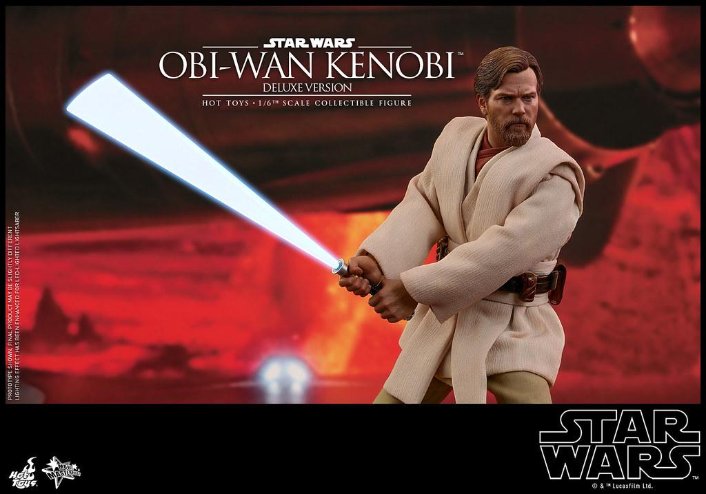「你本來應該是要毀滅西斯,而不是加入他們!」Hot Toys - MMS478 -《星際大戰三部曲:西斯大帝的復仇》歐比王·肯諾比 豪華版 Obi-Wan Kenobi Deluxe Version 1/6 比例人偶作品
