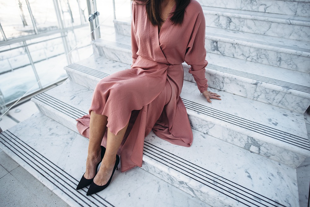 Filippa K wrap dress