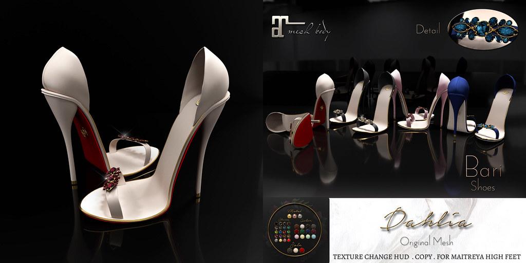 Dahlia - Bari - Shoes - TeleportHub.com Live!