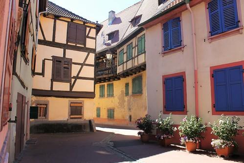Dans la vieille ville de Sélestat