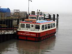 The Wyre Estuary Ferry at Fleetwood