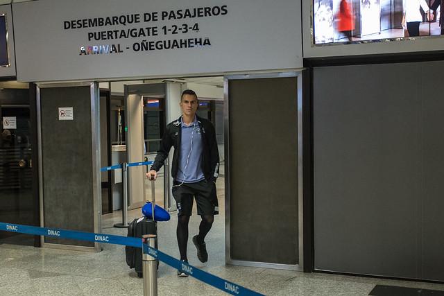 Desembarque Grêmio no Paraguai