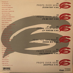 THE BEATNUTS:PROPS OVER HERE(JACKET B)