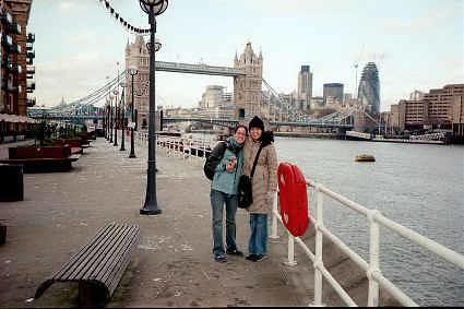 Tower Bridge, London - January 2003