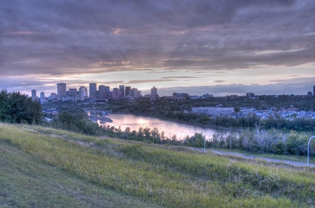 Subtle HDR of Edmonton