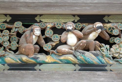 Drei Affen