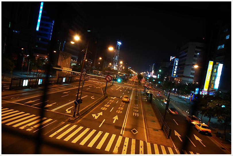 Night on ZhongHua Road