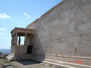 Atenas - Acrópolis, Erecteión