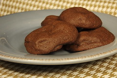 Chocolate Caramel Pocket Cookies
