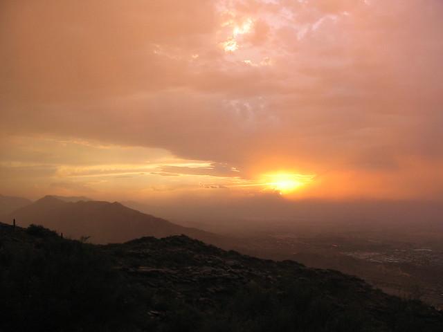 Phoenix Duststorm Sunset 4