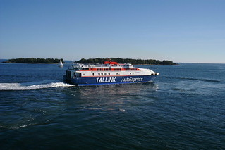Fast ferry to Tallinn