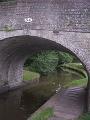 arch, river, arch bridge, canal, ditch, waterway, infrastructure, bridge,