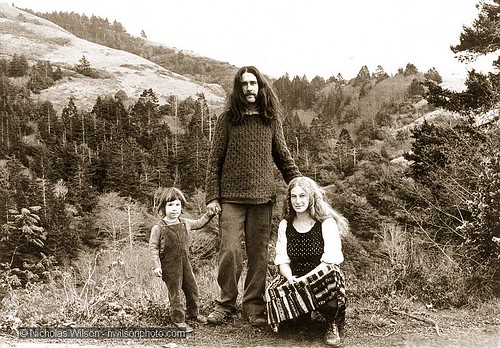 New Pioneer Family, Mendocino County California, 1972