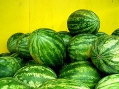 watermelon, green, produce, fruit, food, cucurbita,