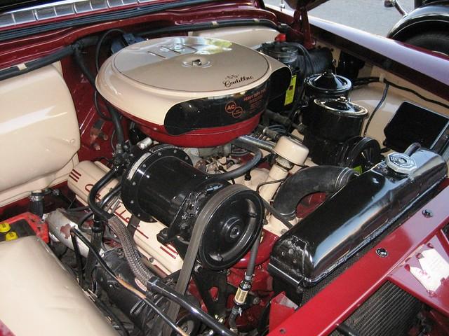 Cadillac Engine 1955 Flickr Photo Sharing