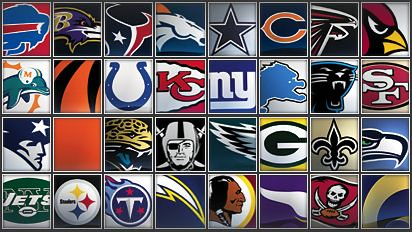 Football Teams Nfl Names Nfl Football Team Names Logos