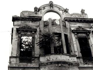 Mostar facade (Bosnia)