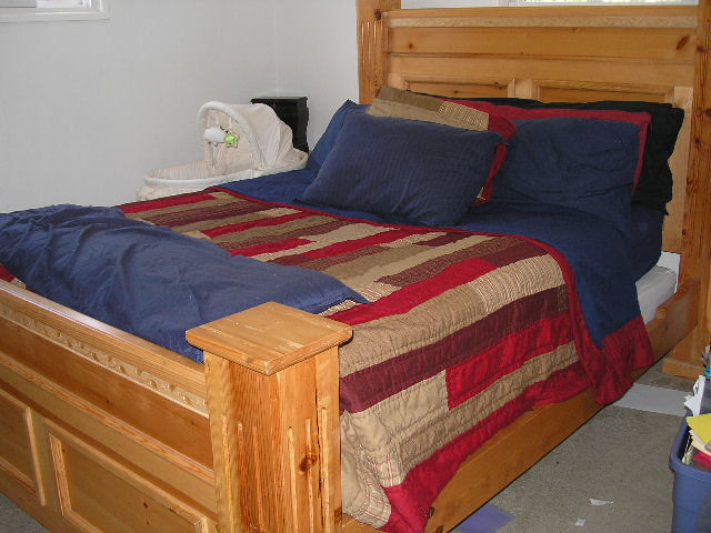 Queen Bed Mattress & Box spring included