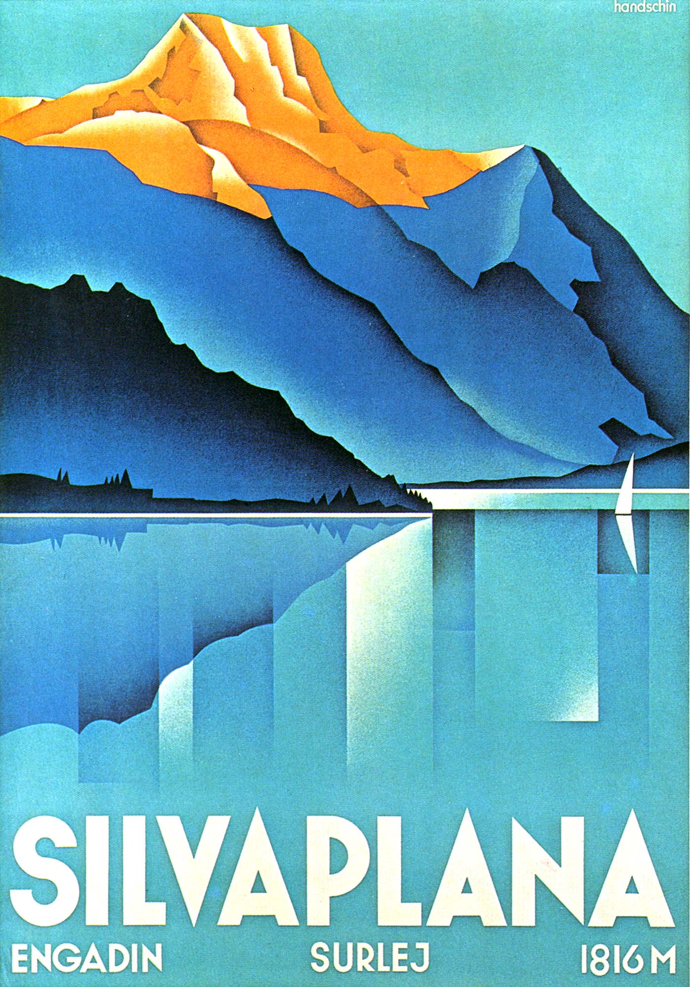 Swiss Graphic Design Tourism Posters