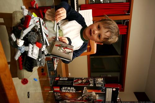 lego, legos, v-wing fighter, 6205, lego 620… _MG_0886