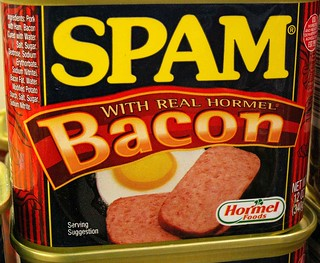 Photo:Spam, Now with Real Bacon! By:cobalt123