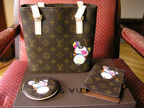 For Sale: Louis Vuitton Murakami Panda Set