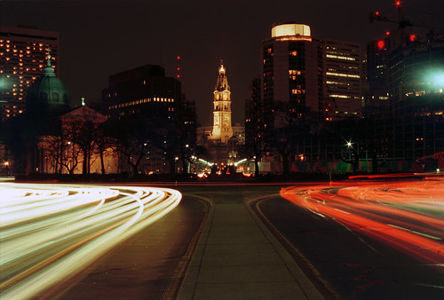 Benjamin Franklin Parkway (re-scanned from film 2008)