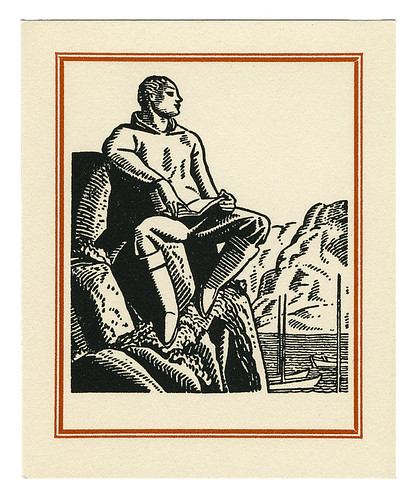 Rockwell Kent bookplate