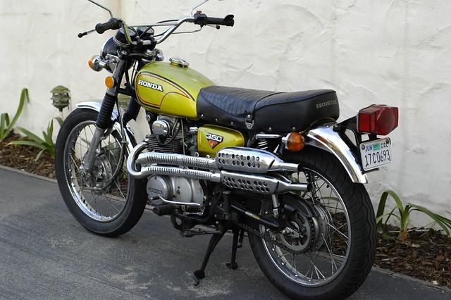 New Honda Motorcycles >> 72 Honda CL350 | Flickr - Photo Sharing!
