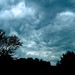 Dark Clouds over Huntington, Indiana by laffy4k