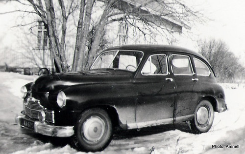 1950's car. Aaron auto - Standard Vanguard by Anna Amnell