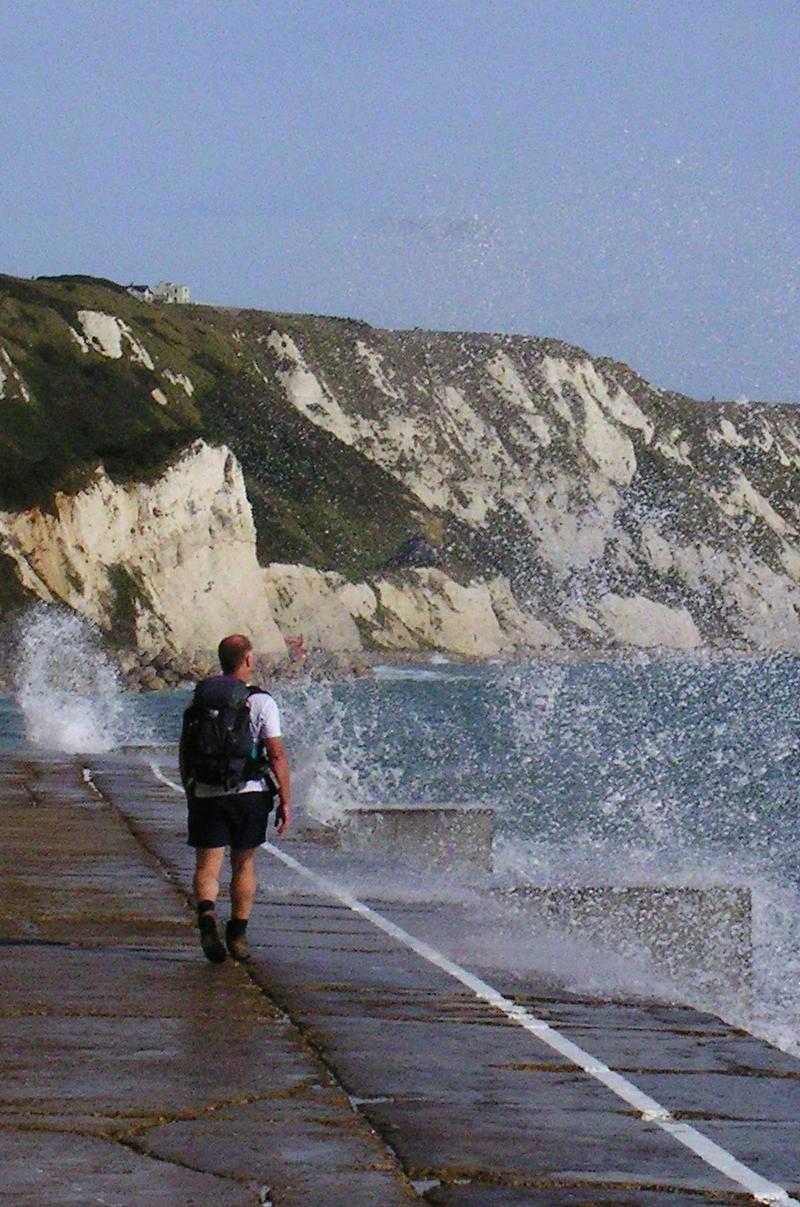 Book 3, Walk 13, Folkestone Round Mark R, 8 October '06