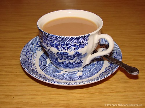 A nice cup of tea!  That will sort you out.