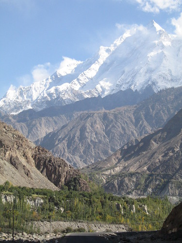 Rakaposhi peak (7,788m) from the KKH