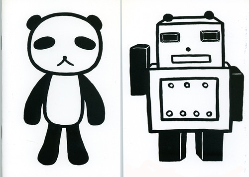 panda robot notebook