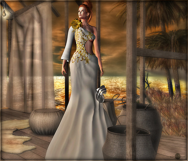 ╰☆╮Vanity Gown Snow by Virtual Diva Couture.╰☆╮