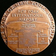 NY Int'l Airport 75mm Bz Obv