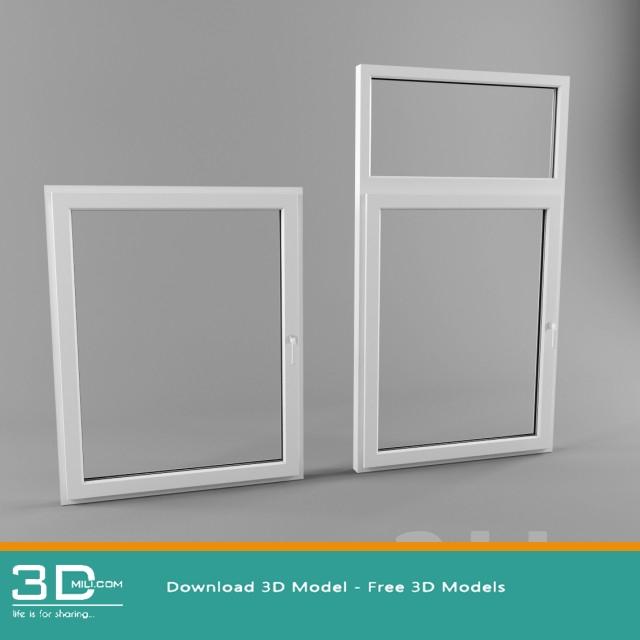 76 Window 3dsmax Model Free Download 3d Mili Download