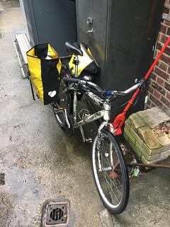 Bike carrying beers