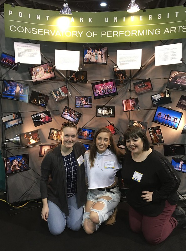 Students Attend Annual Theatre Conventions and Job Fairs