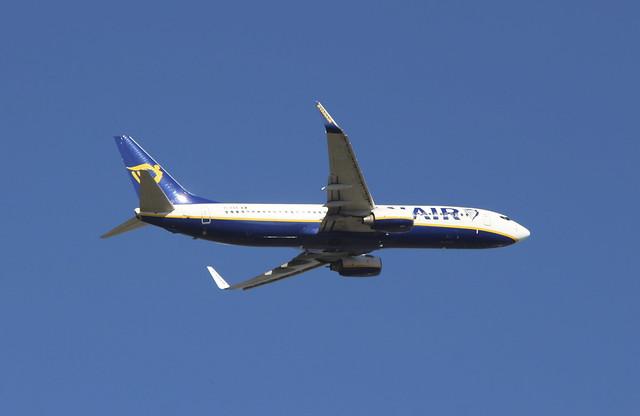 EI-EBA Boeing 737-8AS/W Ryanair