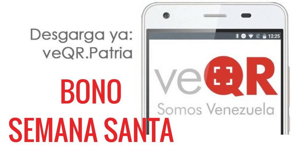 VeQr Bono de Semana Santa