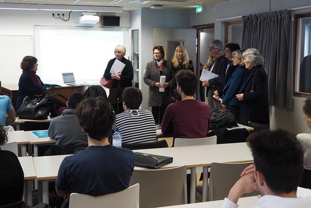 Inauguration du site Rachais, musée des moulages et département musique et musicologie - - Crédit photo Alex Lafourcade Université Lumière Lyon 2