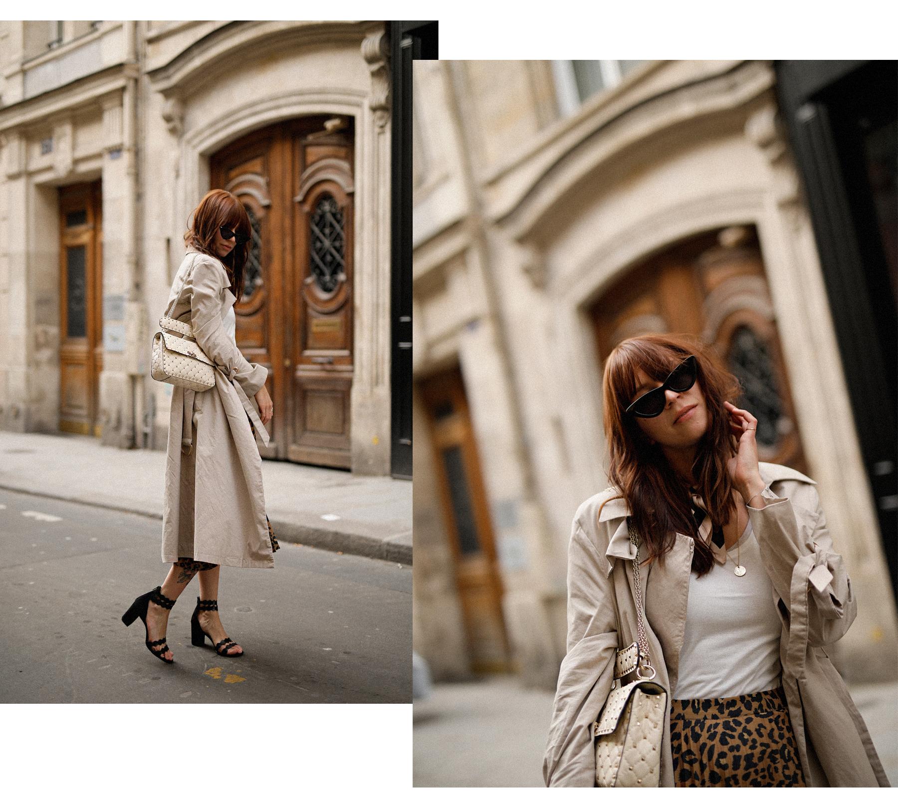 paris love mon amour mint&berry leopard print skirt trench coat valentino rockstud breuninger catsanddogsblog modeblogger styleblog modeblog outfitblog parisienne styliste cats&dogs max bechmann fotografie film düsseldorf 5