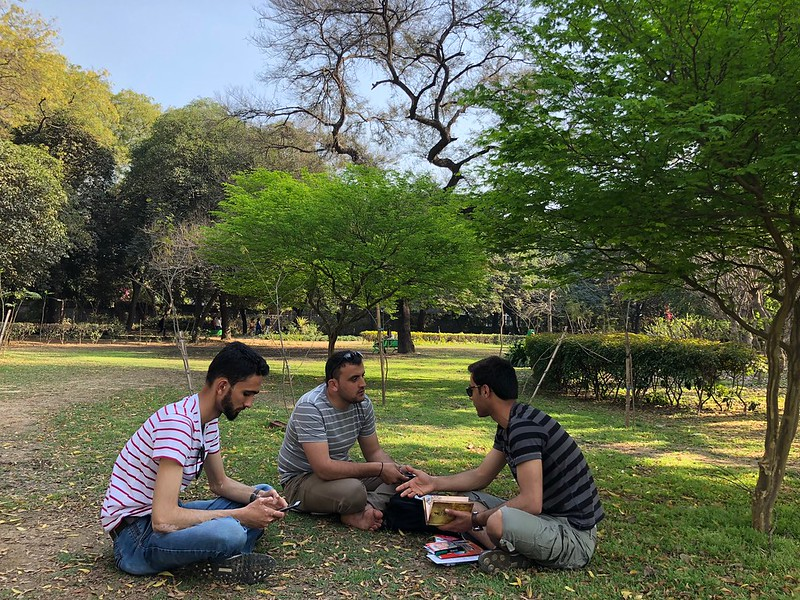 City Moment - Friends from Kabul, Lodhi Gardens