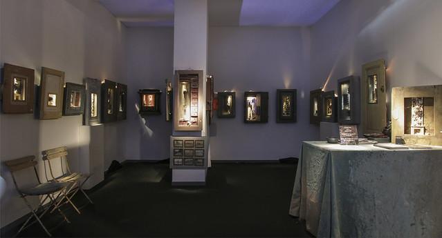 Box art Peter Gabrielse exhibition at Eurantica 2018