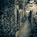 Down the ginnel/snicket/alley