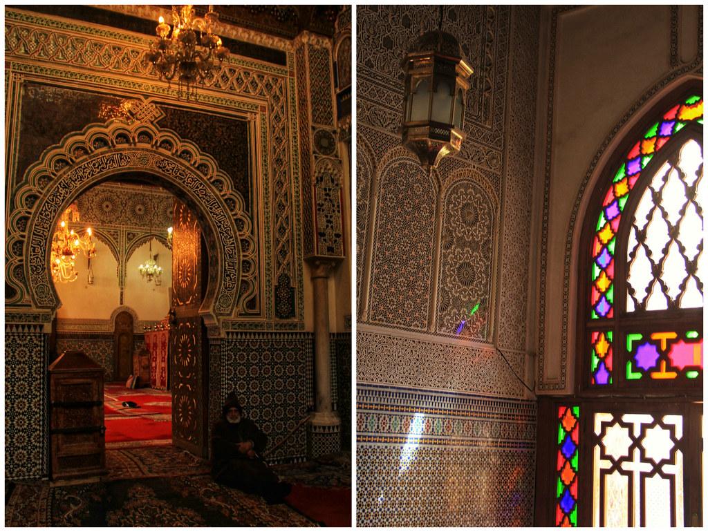 Mosque interiors, Fes