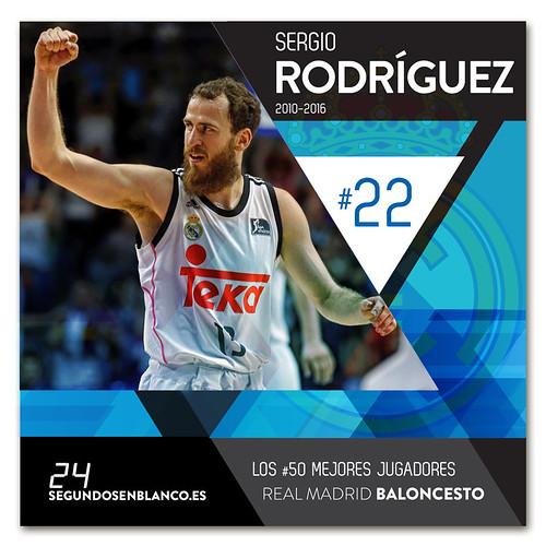 #22 SERGIO RODRÍGUEZ