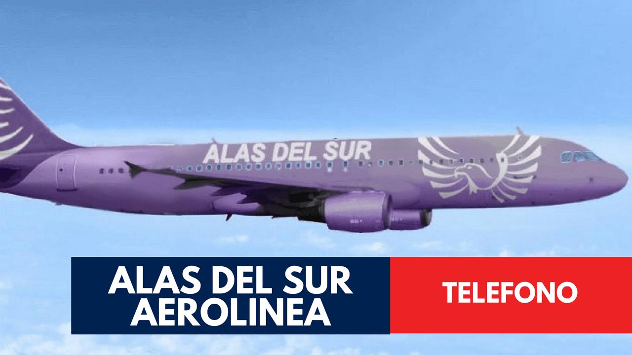 Alas del Sur Aerolinea Telefono